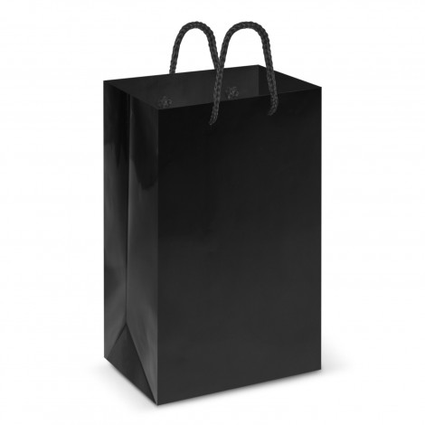 Black Laminated Carry Bags in Perth