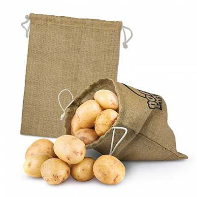 Custom Large Jute Produce Bags in Perth