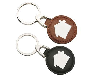 Custom Leather House Keyrings in Australia