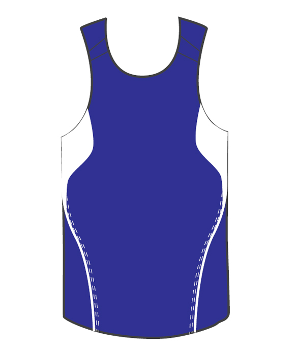 Custom Light Blue Basketball Terminator Singlets Ladies in Perth