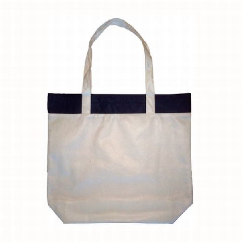 Custom Blue Coloured Bamboo Tote Bag in Perth