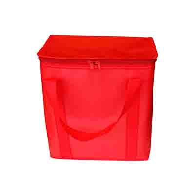 Custom Made Red Large Coated Cooler Bags in Australia
