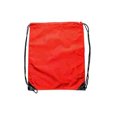 Custom Made Red Nylon Backsack In Australia
