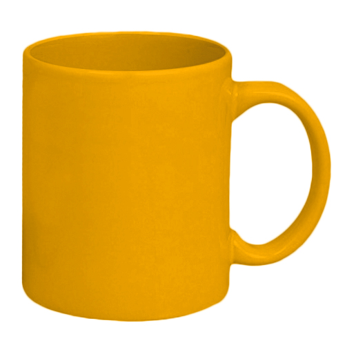 Custom Made Yellow Coffee Mugs in Perth
