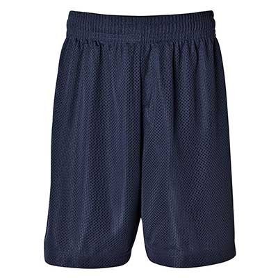 Custom Navy Kids and Adults Basketball Shorts in Perth