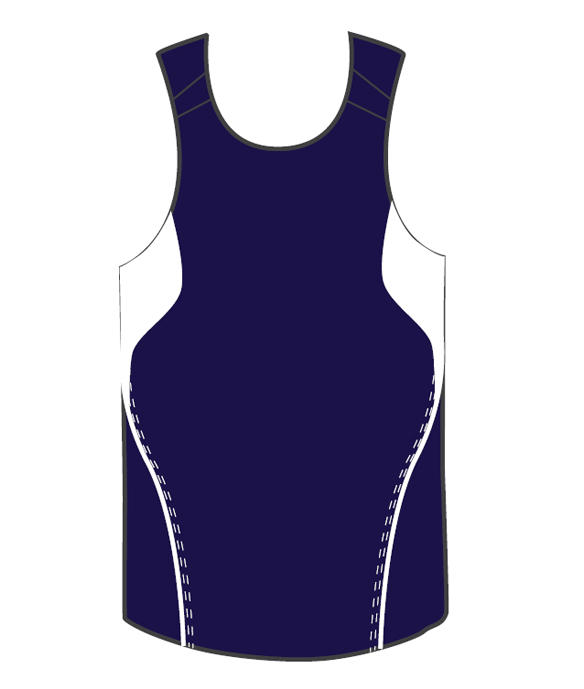 Custom Personalised Dark Blue Terminator Basketball Singlets in Australia