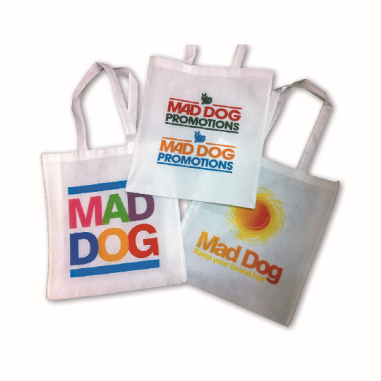 Custom Printed Calico Bags Short Handle in Perth Australia