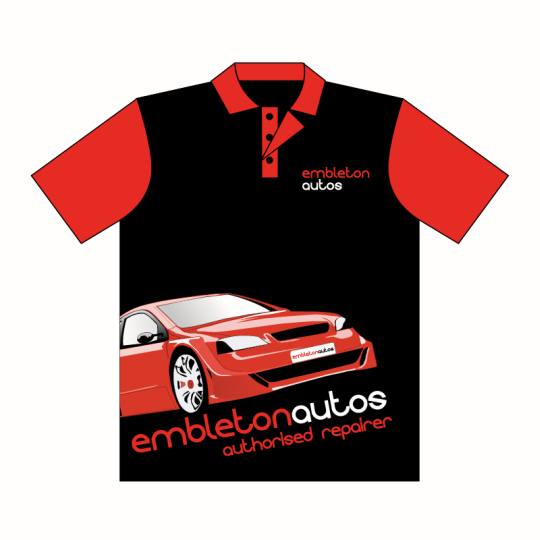 Custom Printed Full Colour Business Promo Shirts in Perth
