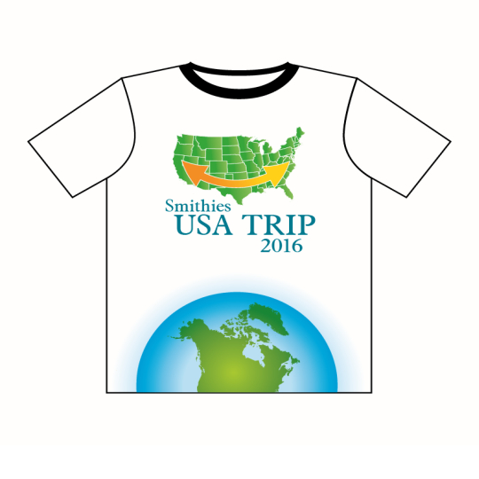 Group Trips Light Navy Clothing - Custom Printed Navy Clothing Perth