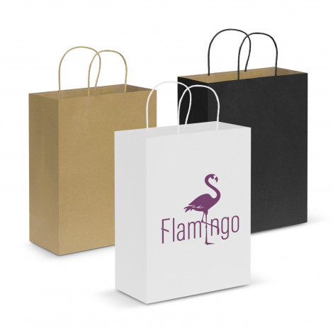 Custom Made Paper Carry Bags Large Perth