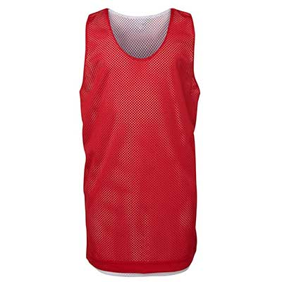 Custom Printed Red Kids  Basketball Singlets in Perth