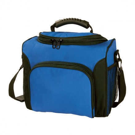 Custom Printed Royal blue Deluxe Cooler Bags in Perth