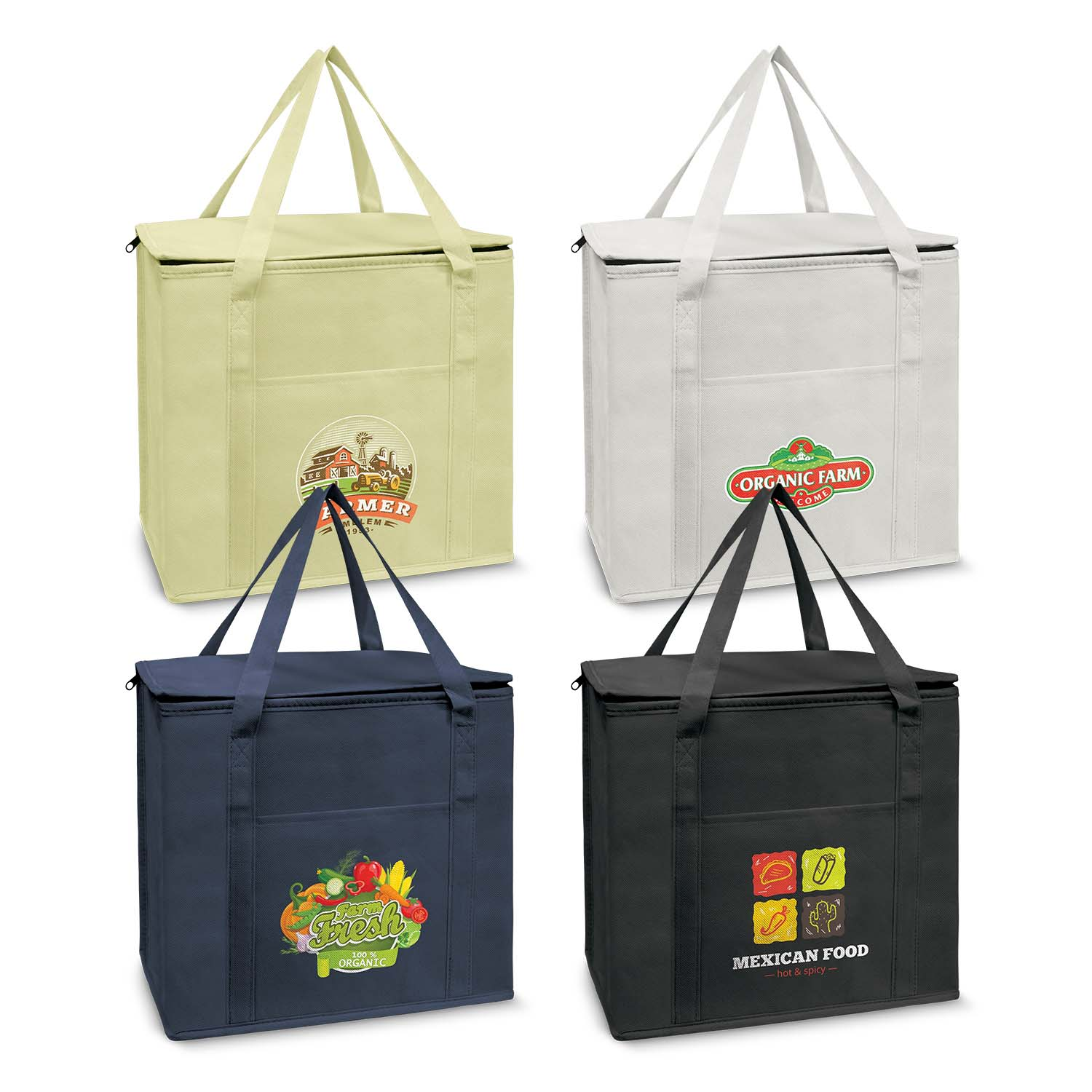 Custom Printed Sierra Shopping Cooler Bag in Perth