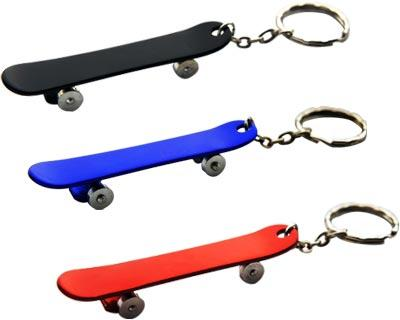 Custom Printed Skateboard Keyrings in Perth