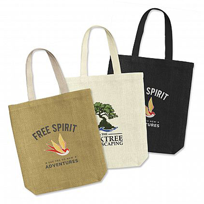Custom Thera Jute Tote Bags in Australia