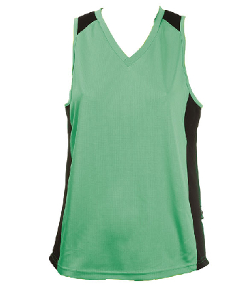 Printed Emerald Balck OC Ladies Basketball Jersey Online in Perth