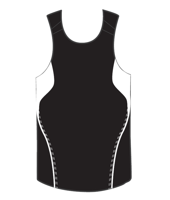 Get Custom Black Terminator Basketball Singlets Online in Perth