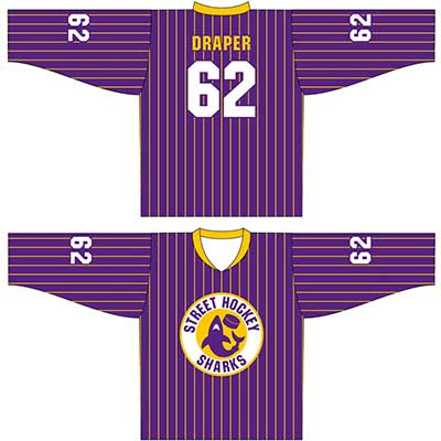 Get Custom Street Roller Hockey Uniforms Online in Perth