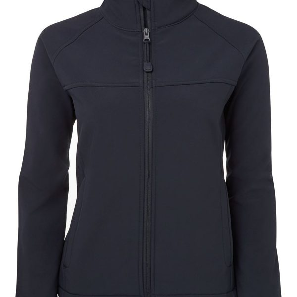 Personalised Ladies layer softshell jacket in Australia