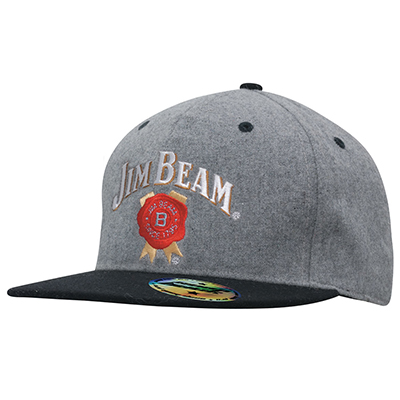 Grey Marle Flannel with Snap Back Pro Styling Caps in Australia