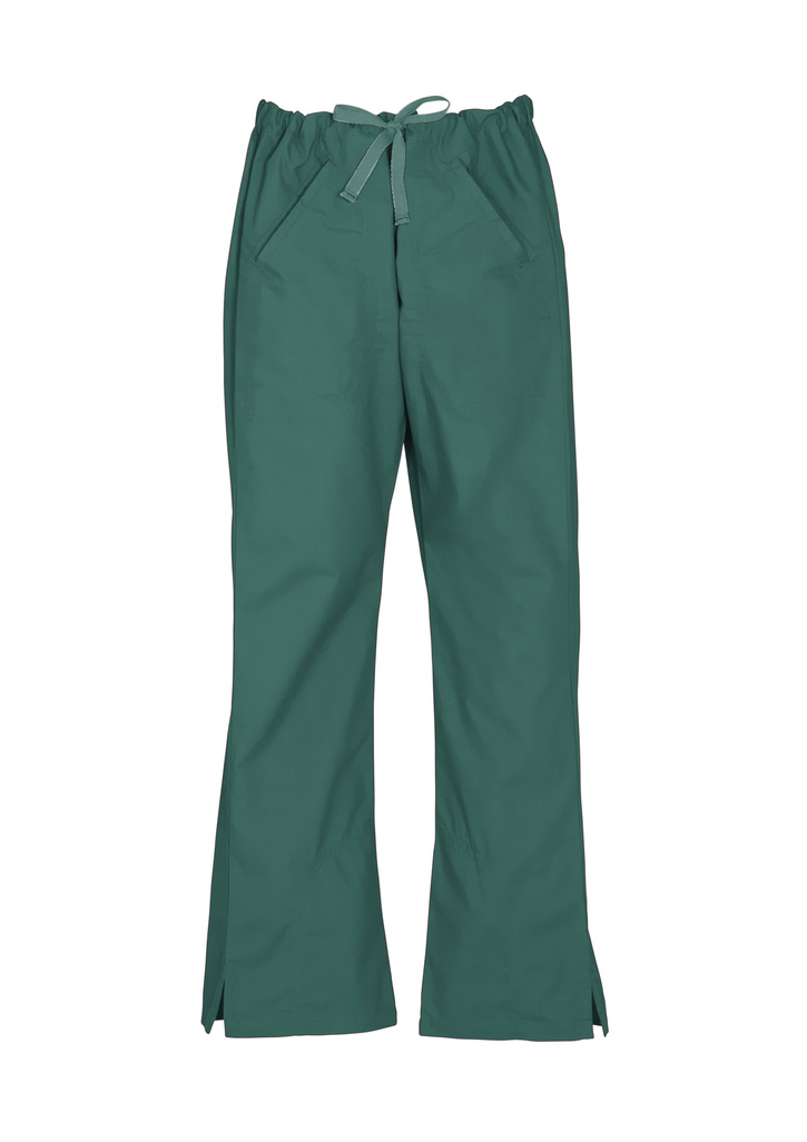 Hunter Green Ladies Classic Scrubs Bootleg Pant and Medical Scrubs Online in Perth