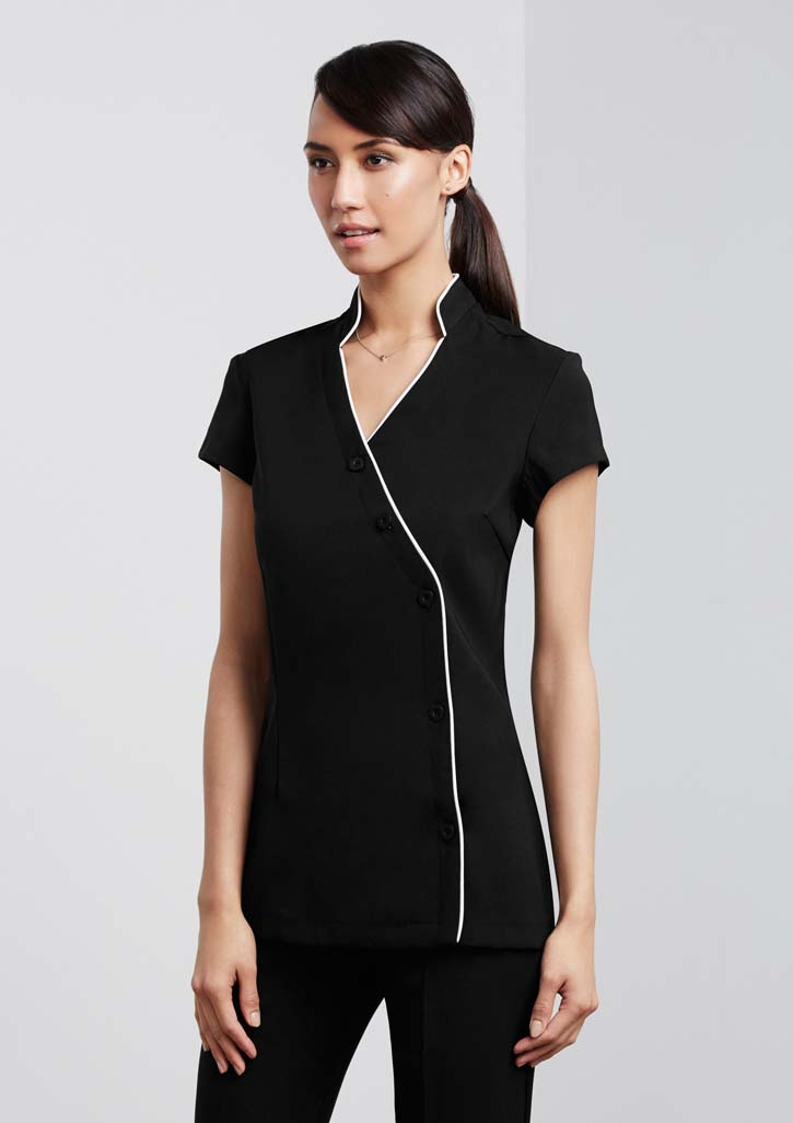 Ladies Zen Crossover Tunic and Nursing Scrubs Online in Perth