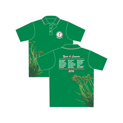 Order School leaver polo shirts Online in Perth