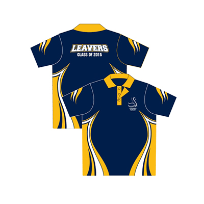 Printed School leaver polos in Australia
