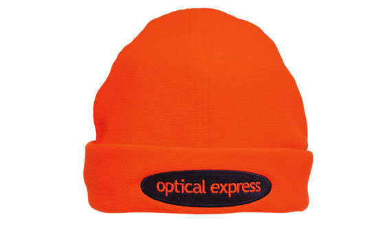 Promotional Corparate Custom Printed Bags Headwears Luminescent Safety Hats and Caps Micro Fleece - 3025 Perth Australia