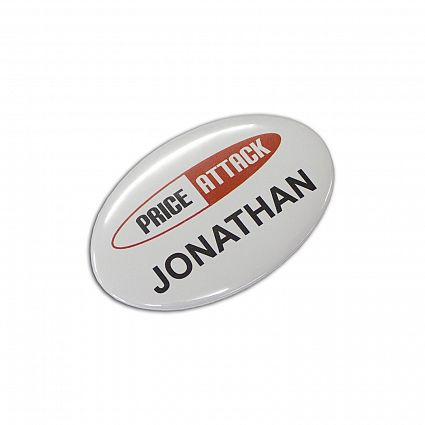 Order Button Badge Oval online in Perth Australia
