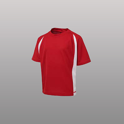 Order Printed Podium Point Poly Pre-made Soccer T-shirts Online in Perth