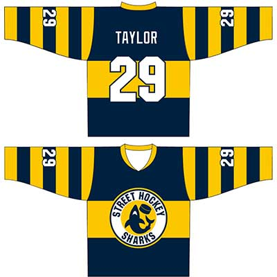 Order Printed Street Roller Hockey Uniforms Online in Perth