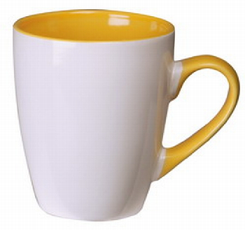 Order Printed White Yellow Calypso Mug Online in Perth