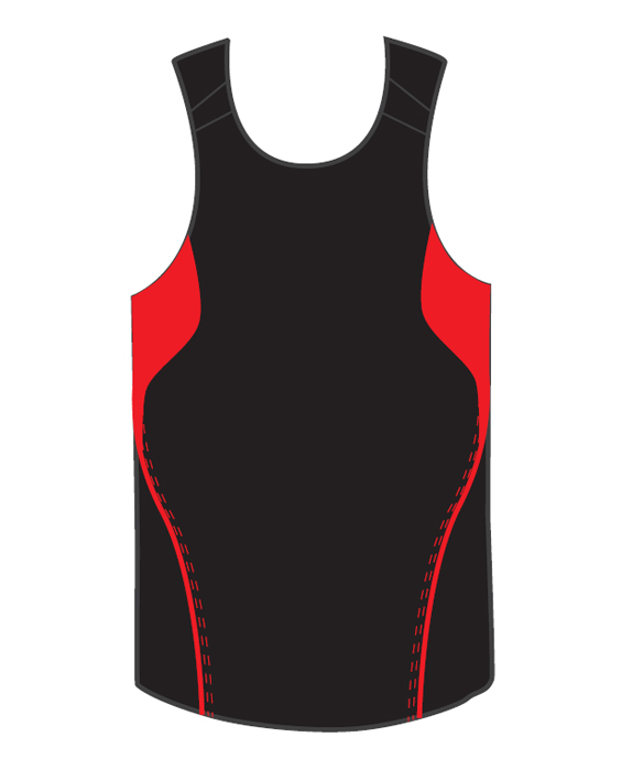 Order Red Terminator Basketball Singlets Online in Perth