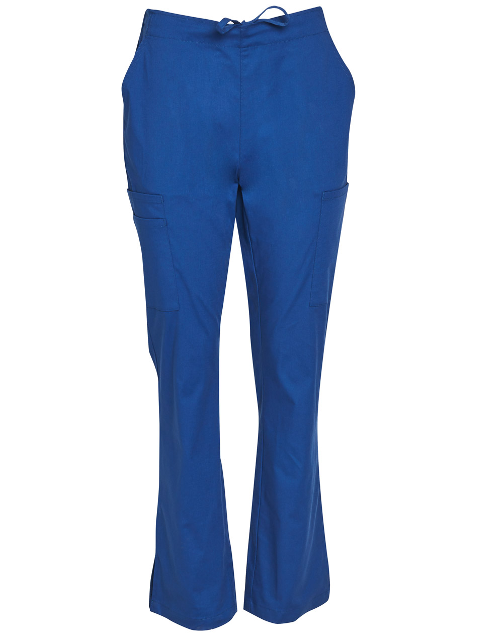 Order Royal Ladies Semi-Elastic Waist Tie Solid Colour Scrub Pants in Perth