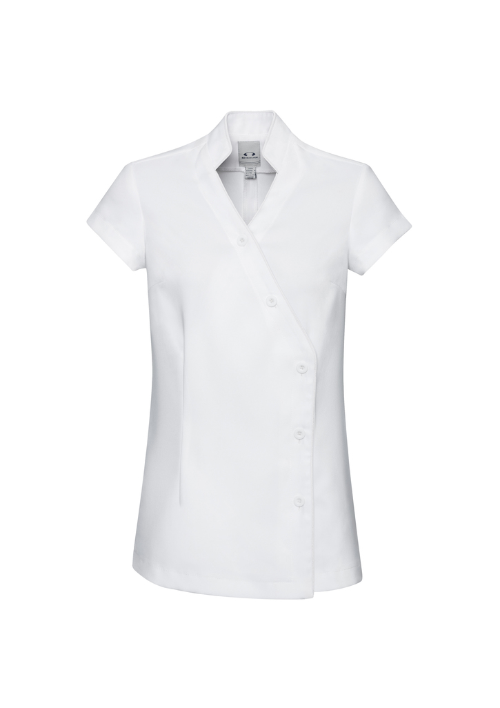 White Ladies Zen Crossover Tunic Scrubs Online in Perth