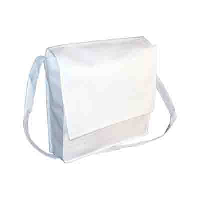 Order White Non Woven Flap Satchel Online in Perth
