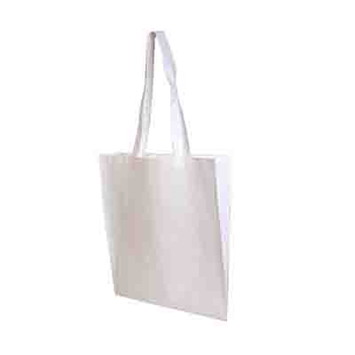 Order White Non Woven Tote Bag V Gusset Online in Perth