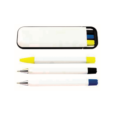 Custom Printed Pen Set 3 in 1 Perth - Mad Dog Promotions