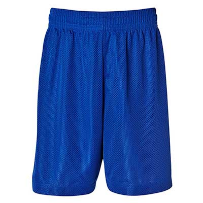 Personalised Blue Kids and Adults Basketball Shorts in Australia