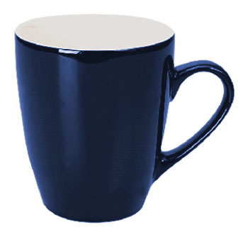 Personalised Blue White Calypso Mug in Australia