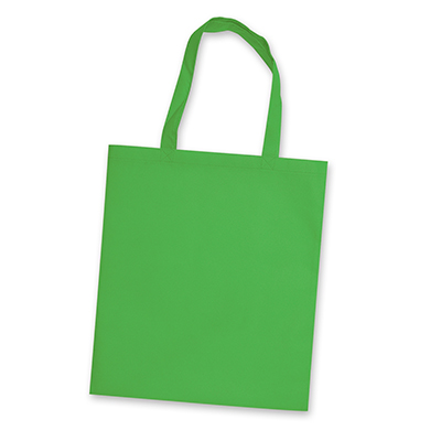 Personalised Bright Green Affordable Tote Bag in Perth, Australia