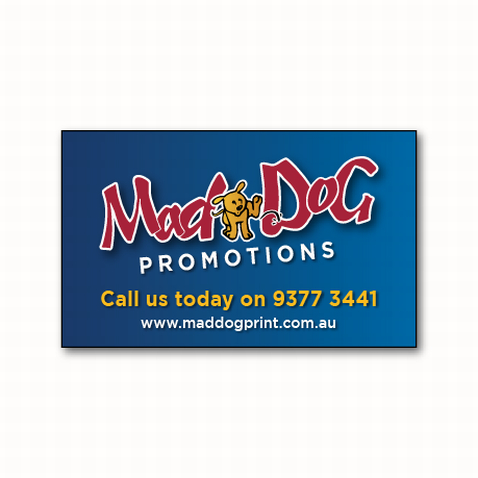 Custom Business Cards Size Fridge Magnets in Perth