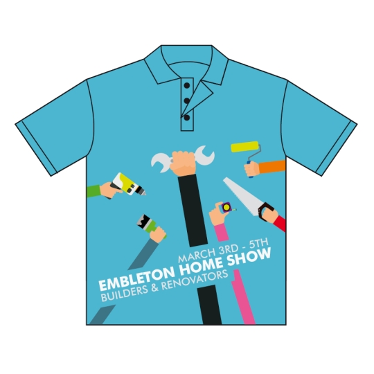Personalised Expos & Trade Show Sublimated Polos in Perth