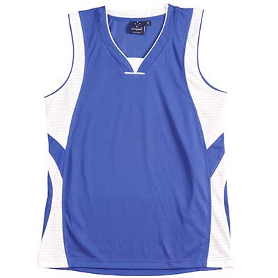 Personalised SD CoolDry Basketball Singlet in Australia