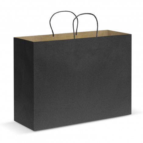 Black Extra Large Paper Carry Bags in Australia