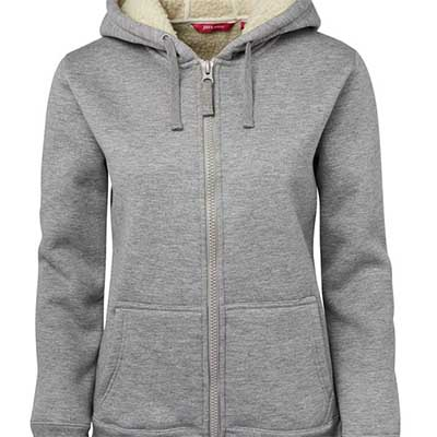 Printed Gray Ladies Shepherd Hoodie in Australia