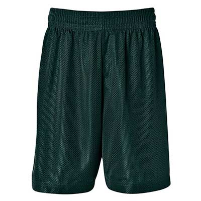 Printed Green Adults Basketball Shorts in Australia