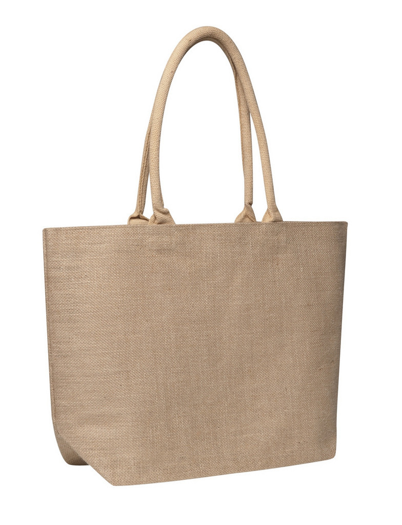 Promotional Eco bags Jute Laminated Jute Market Bag in Perth, Australia
