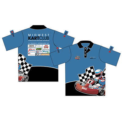 Printed Motorsports Uniforms in Australia